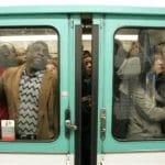 Zombie dans le métro