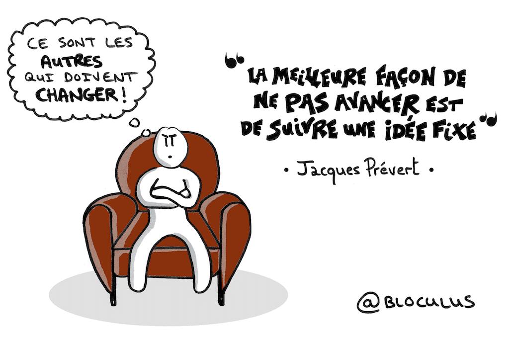 #cartoon : choisir de changer ou attendre que les autres le fassent ?