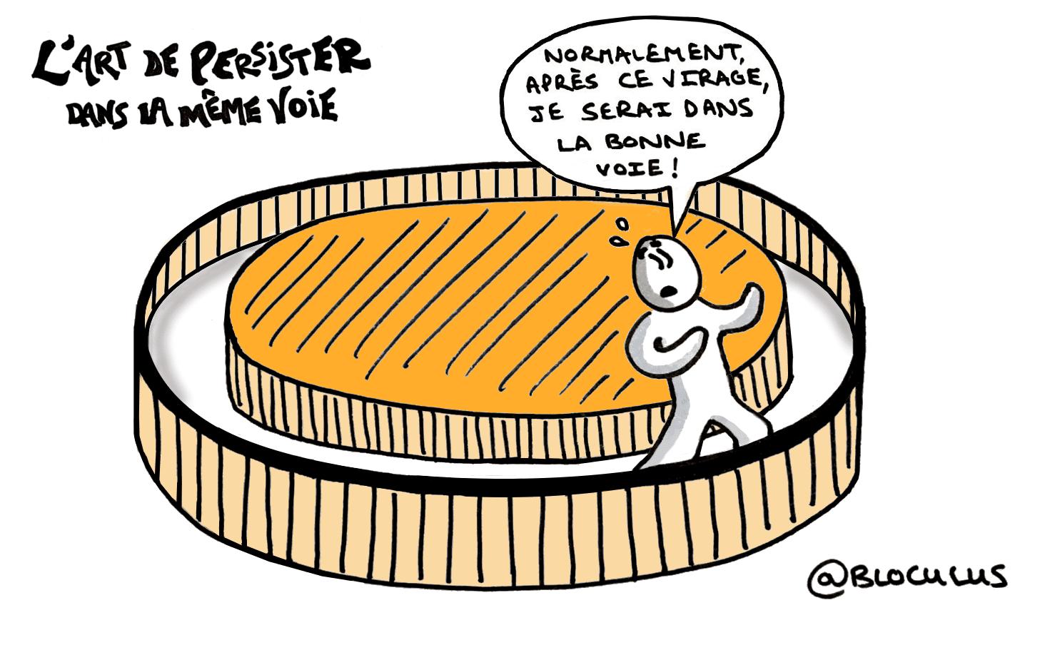 #cartoon : L'art de persévérer dans la même voie