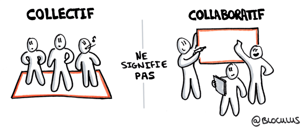 #Cartoon : Collaboration ou bazar collectif ?