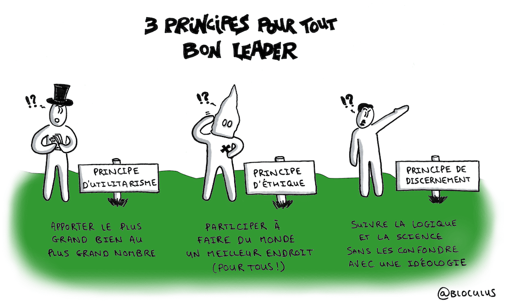 #cartoon : 3 principes pour les leaders de demain