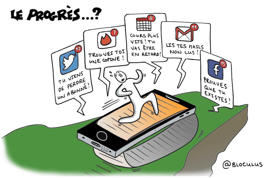 #cartoon : La technologie nous emmène-t-elle vraiment vers plus de libertés ?