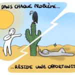 #cartoon : Remerciez vos problèmes !