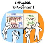#cartoon : Comment impulser le changement ?