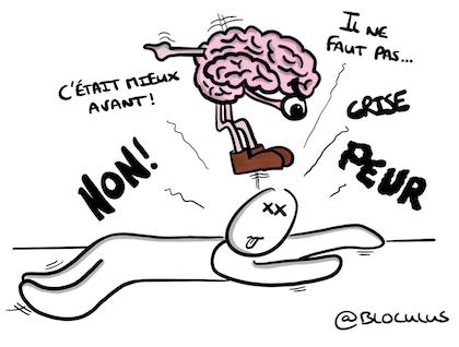 Le cerveau n'aime pas le négatif