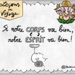 #cartoon : Ce que l'Ayurveda enseigne pour gérer son stress