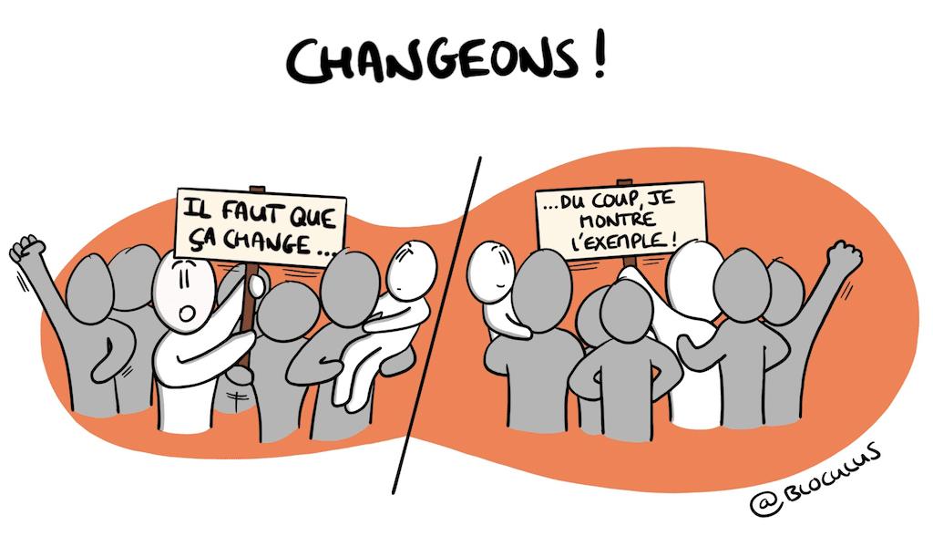 Changeons par l'exemple !