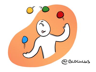 #Coaching : Comment jongler entre plusieurs projets ?