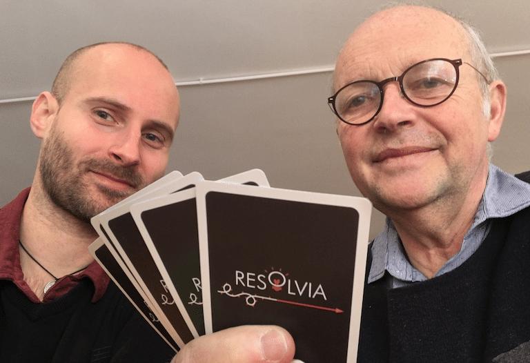 Jeu de cartes RESOLVIA - Comment résoudre un problème avec l'#ApprocheSystémique de #PaloAlto