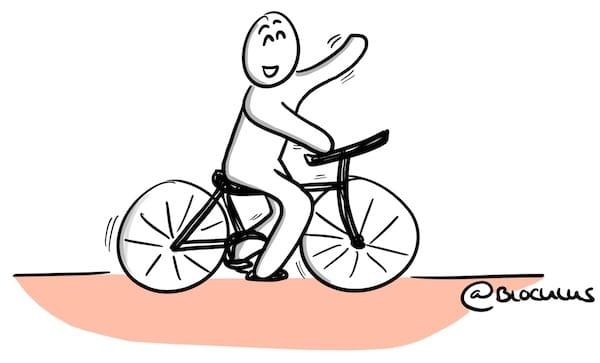 Apprendre à dessiner, c'est comme le vélo !