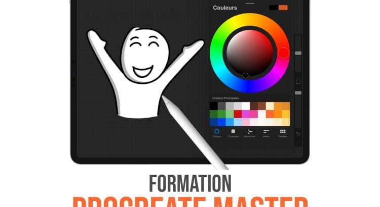 Formation PROCREATE MASTER : Prenez le contrôle de l'application en moins d'une semaine ! #sketchnoting #procreate